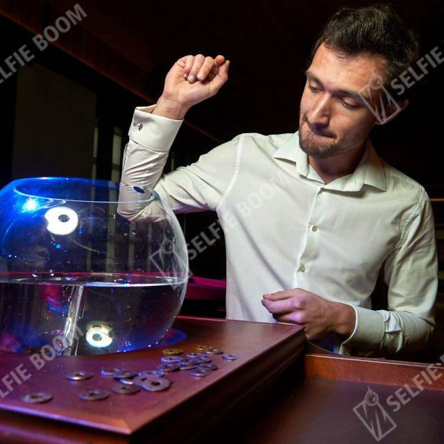 Испытание аквариум на праздник в аренду