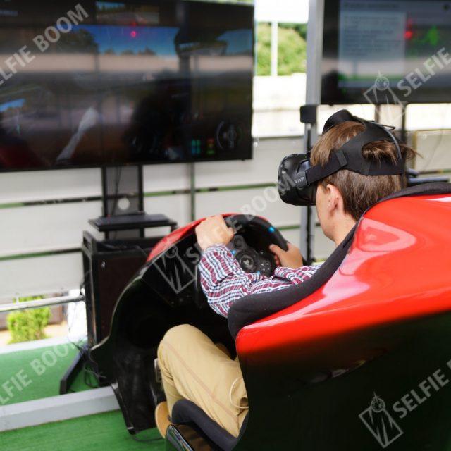 Прокат автосимулятор VR