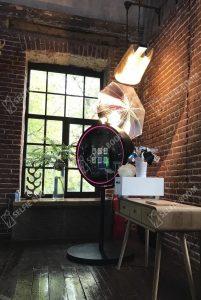 Круглое селфи зеркало на свадьбу