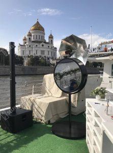 Круглое селфи зеркало в аренду