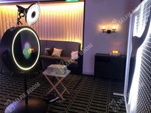 Выездная фотозона Круглое селфи зеркало