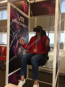 VR невесомость на прокат