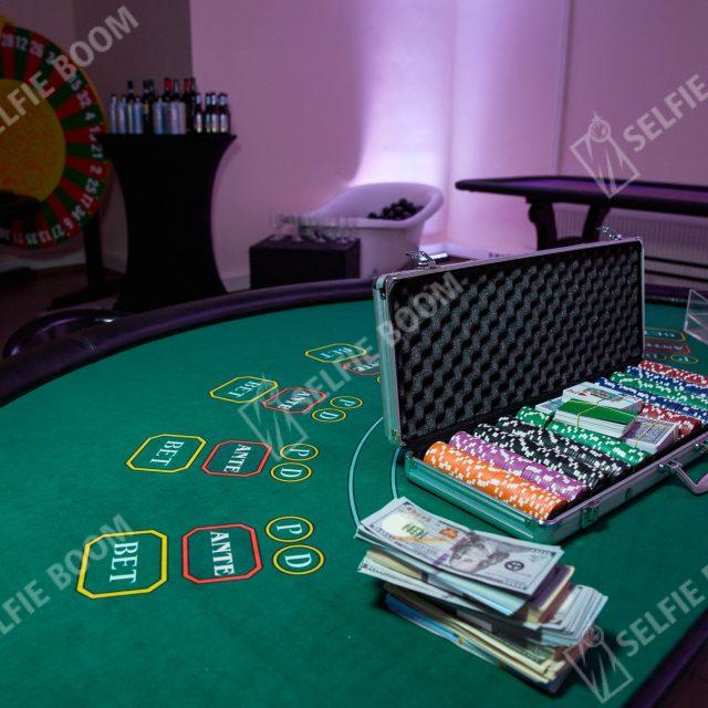 Игровой покерный стол на праздник аренда