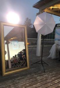 Селфи зеркало на свадьбу