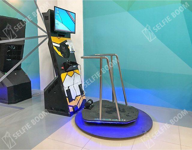 Подвижная платформа с VR очками в аренду