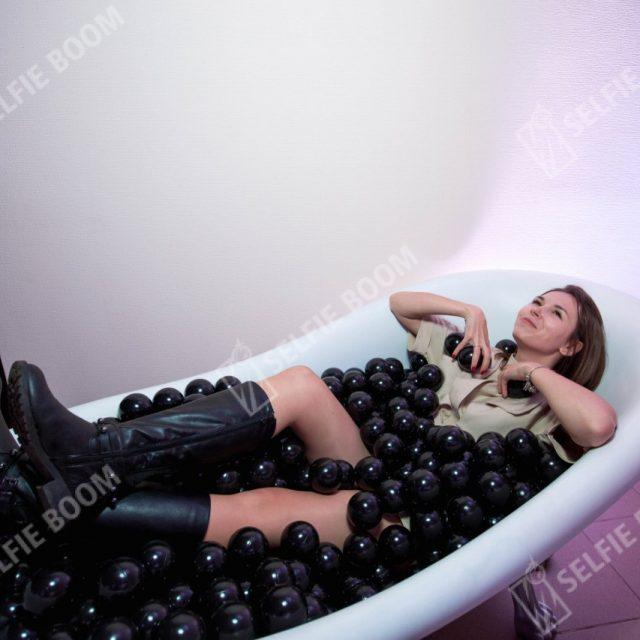 Аренда ванны с шарами