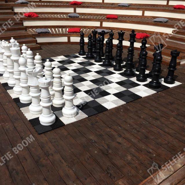 Гигантские шахматы на мероприятие