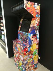 Игровой ретро аппарат Аркада на праздник