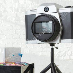 Гигантский фотоаппарат на мероприятие