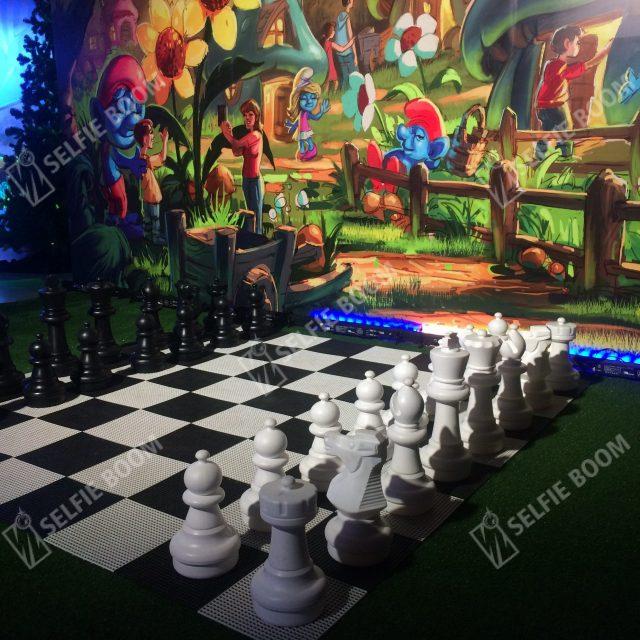 Шахматы для фотозоны
