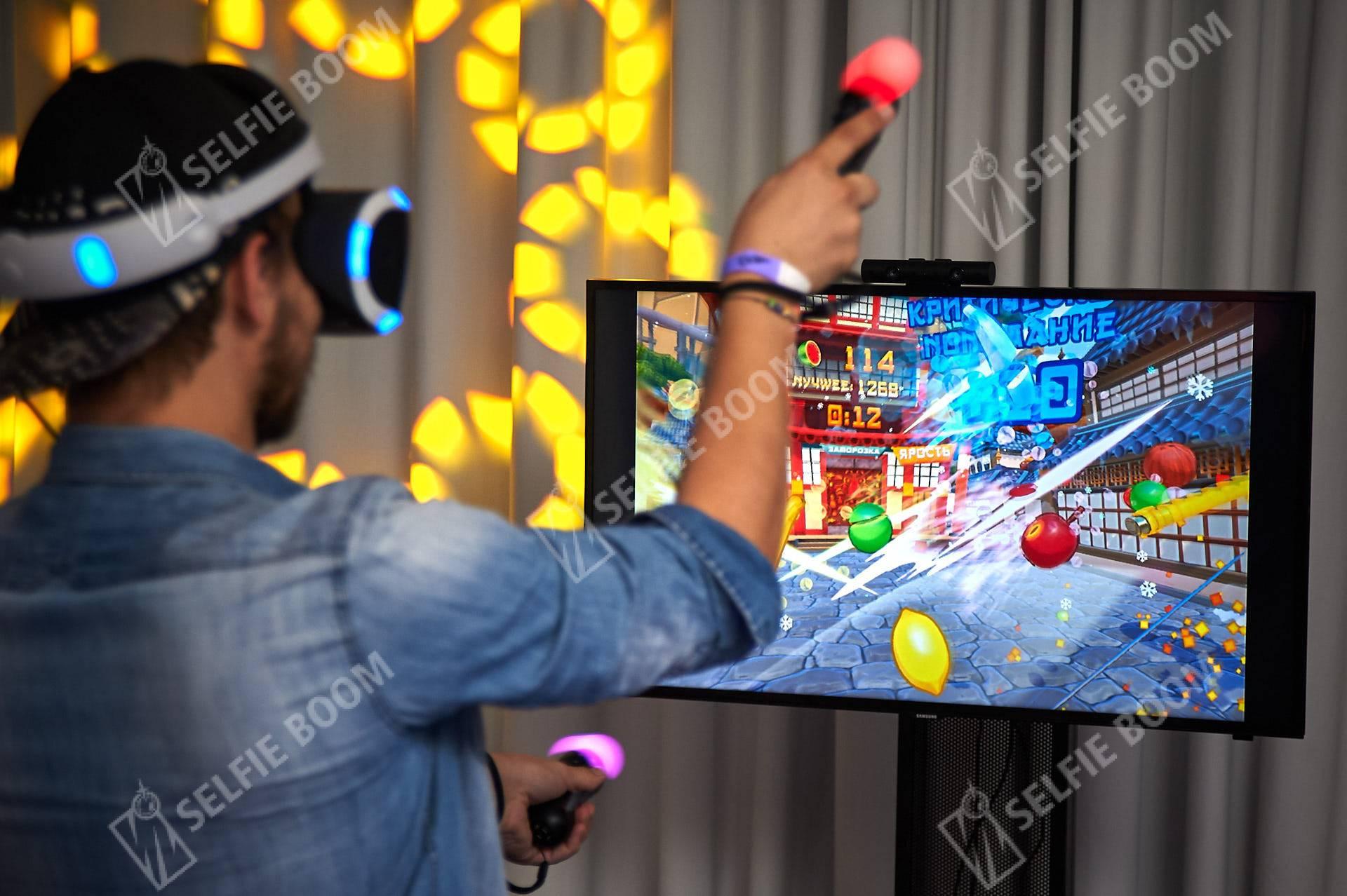 Аренда приставки с очками виртуальной реальности