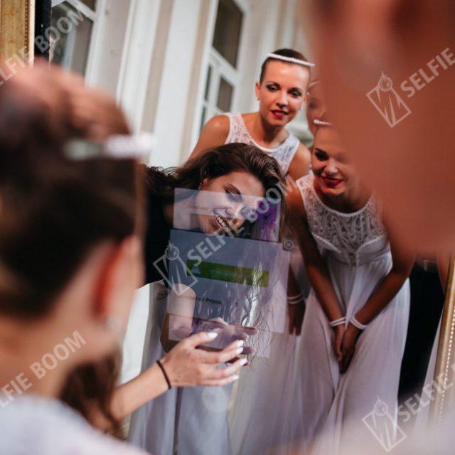 Фотозона на праздник selfi зеркало