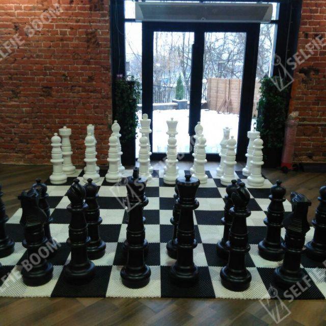 Гигантские шахматы на праздник