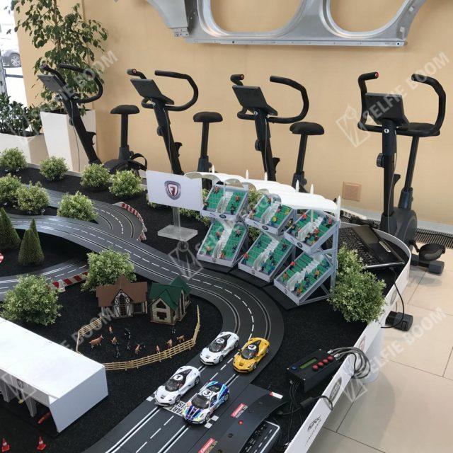 Гонки на велотренажерах в аренду
