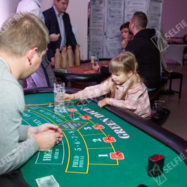 Прокат игрового стола Грин Дайс