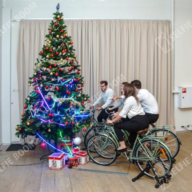 Велоелка на Новый год